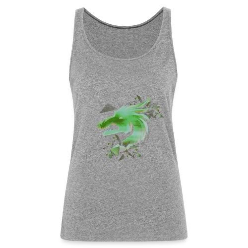 Green Dragon - Women's Premium Tank Top