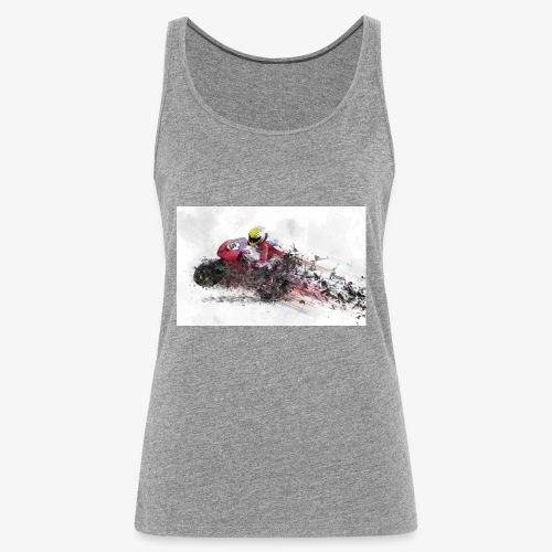 Motorradrennen. Das Geschenk für Motorradfans - Frauen Premium Tank Top