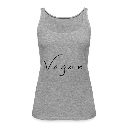 Vegan - Vrouwen Premium tank top