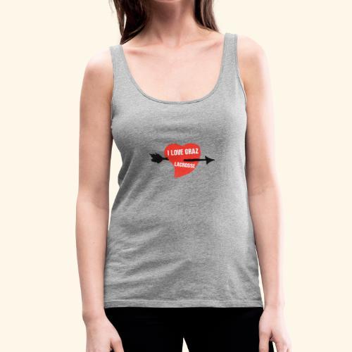 I LOVE GRAZ LACROSSE - Frauen Premium Tank Top