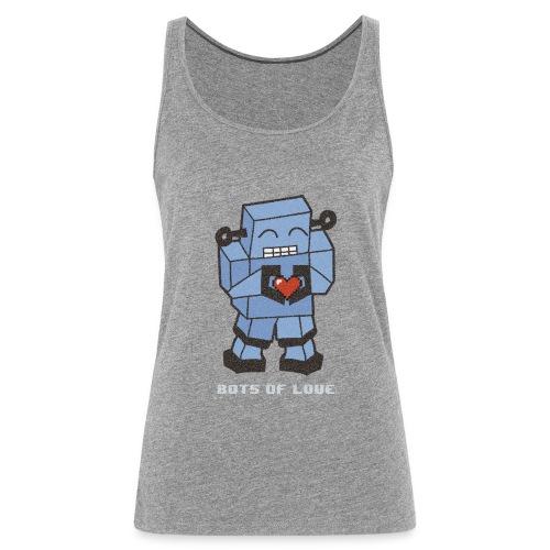 Bots of love grunge - Women's Premium Tank Top