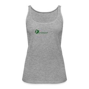 Logo DomesSport Green noBg - Frauen Premium Tank Top