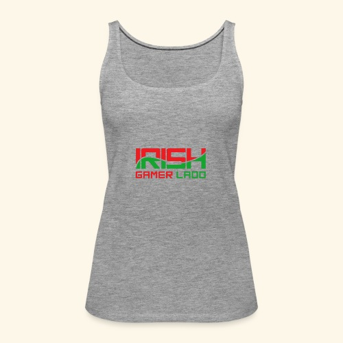 Irish Gamer Ladd - Women's Premium Tank Top