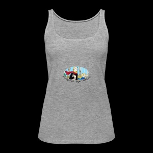 Fatherhood Badly Doodled - Women's Premium Tank Top