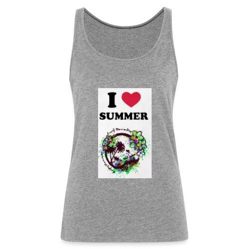 I love summer - Canotta premium da donna