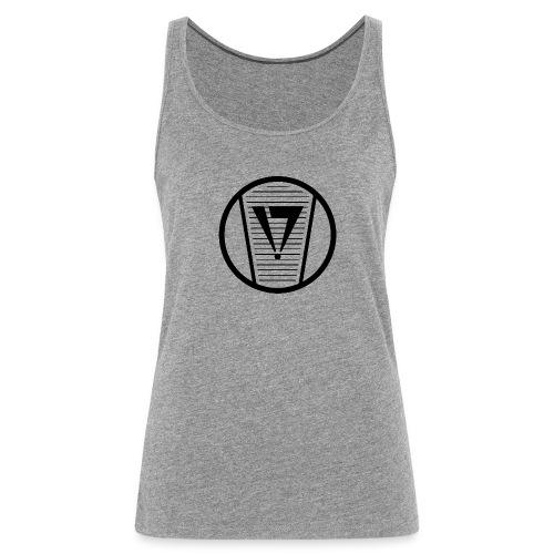 Graffiti Skinny Cap Logo spray can tip - Frauen Premium Tank Top