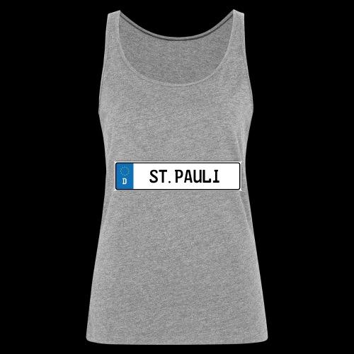 Kennzeichen St.Pauli - Frauen Premium Tank Top