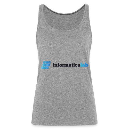 InformaticaLab logo for white background - Canotta premium da donna