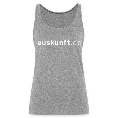 auskunft.de - Frauen Premium Tank Top