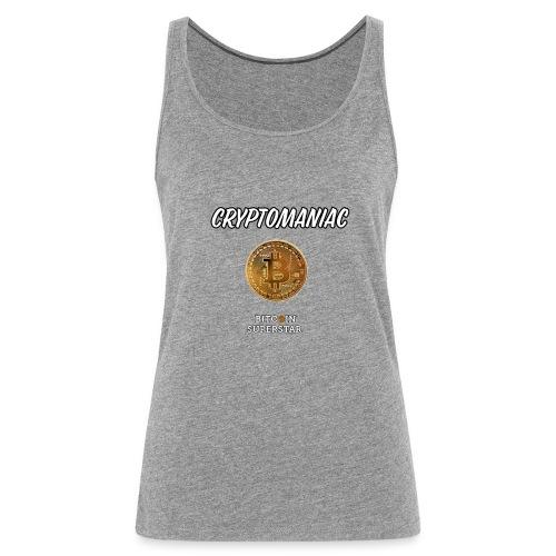 Cryptomaniac - Canotta premium da donna