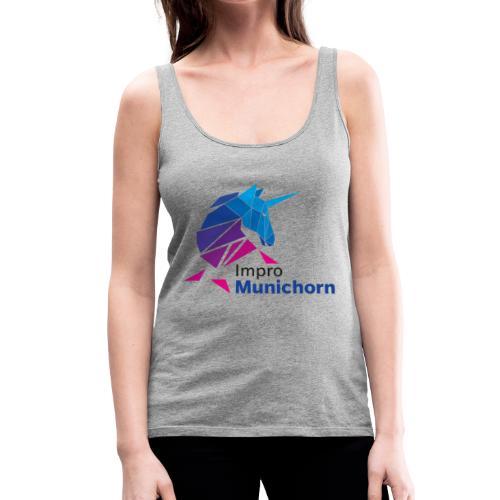 ImproMunichorn Logo farbig - Frauen Premium Tank Top