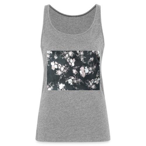 Dark Flowers - Frauen Premium Tank Top