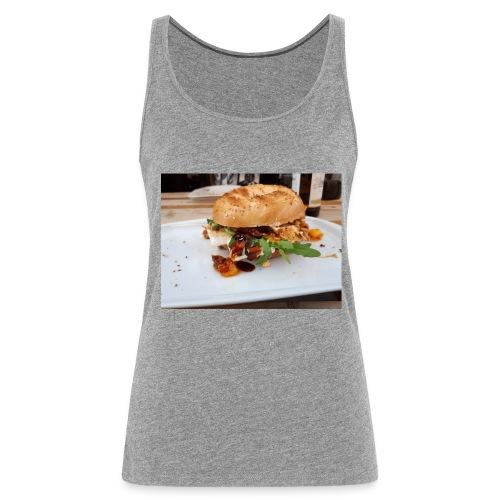 Bagel Chicken Burger - Frauen Premium Tank Top