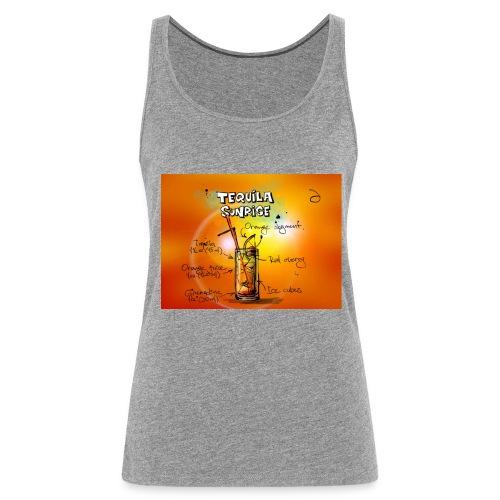 tequila sunrise - Frauen Premium Tank Top