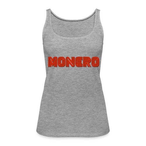 Monero - Frauen Premium Tank Top
