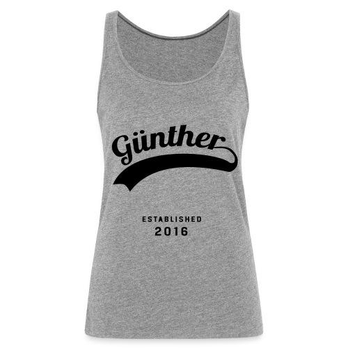 Günther Original - Frauen Premium Tank Top