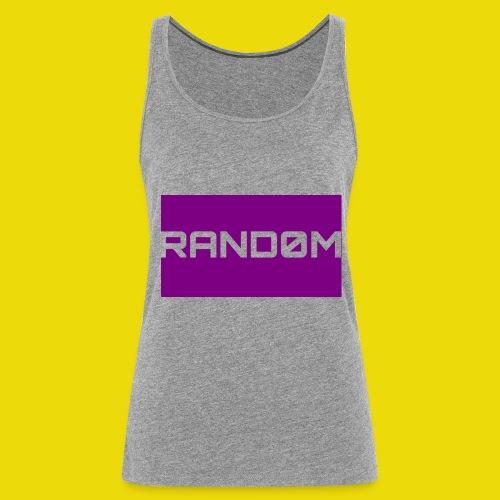 Random Logo - Women's Premium Tank Top