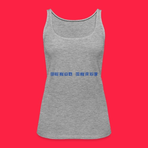 Beach Party BLAU - Frauen Premium Tank Top