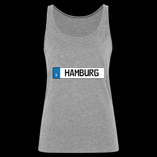 Kennzeichen Hamburg - Frauen Premium Tank Top