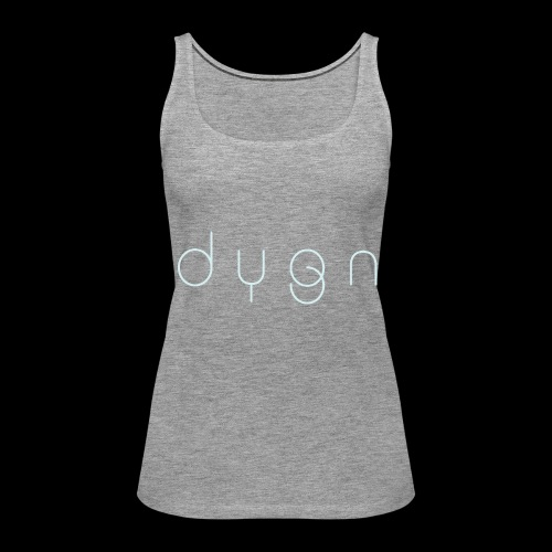 Dygn logo by Monsi Barrionuevo - Women's Premium Tank Top