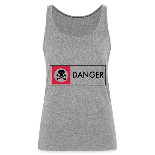 Danger - Women's Premium Tank Top