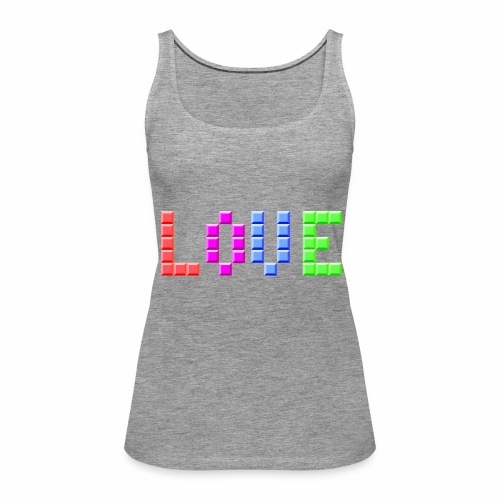 Love Puzzle - Frauen Premium Tank Top