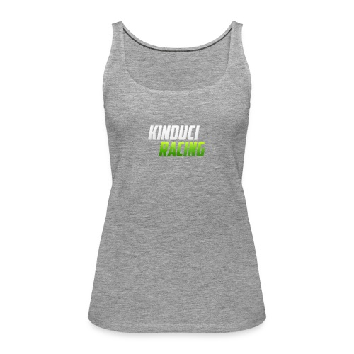 kinduci racing logo - Women's Premium Tank Top