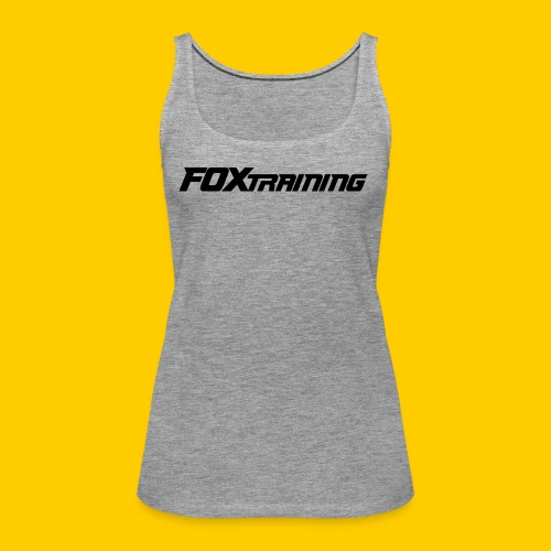 FOX BASICS - Vrouwen Premium tank top