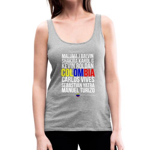 Reggaeton Shirt Kolumbien - Frauen Premium Tank Top