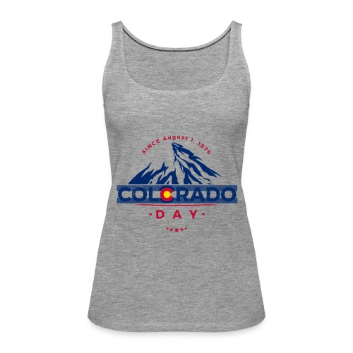 Colorado Day 2018 state flag mountain T shirt - Débardeur Premium Femme