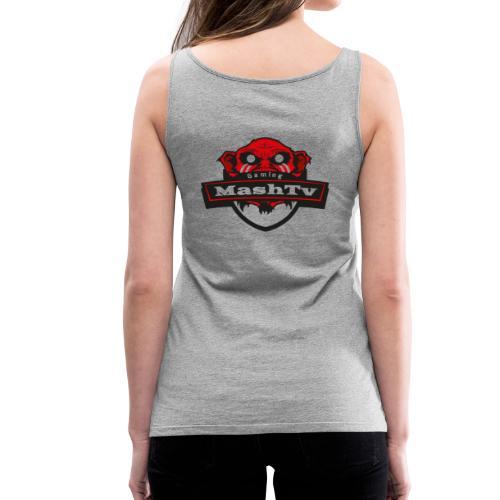 Transparentes Mash Merch Red/Black Logo - Frauen Premium Tank Top