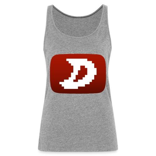 Darien Logo Design - Women's Premium Tank Top