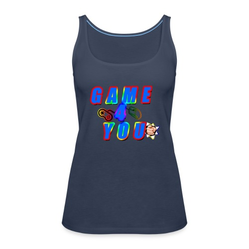Game4You - Women's Premium Tank Top