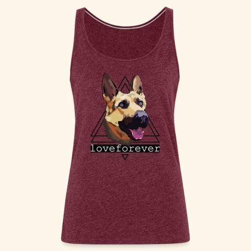 SHEPHERD LOVE FOREVER - Camiseta de tirantes premium mujer
