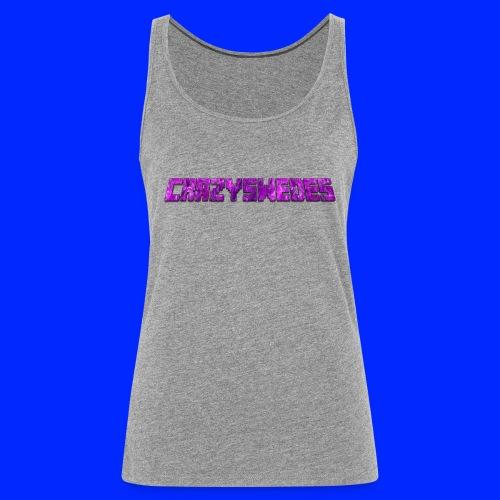 CrazySwedes PurpleThunder - Premiumtanktopp dam