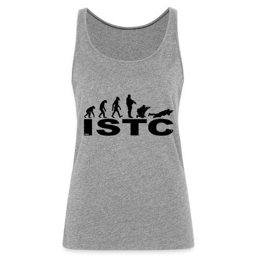 ISTC NOIR - Débardeur Premium Femme