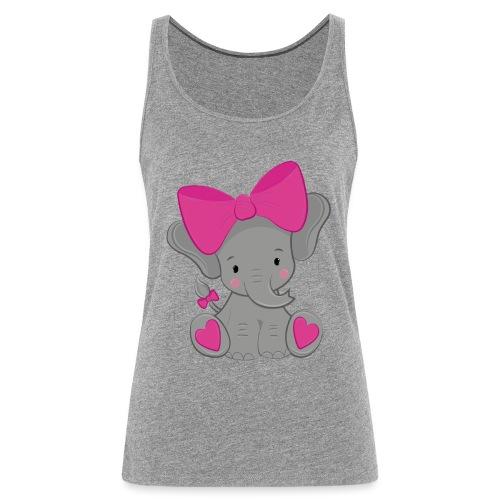 elefante - Camiseta de tirantes premium mujer