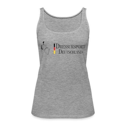 dressursport deutschland horizontal - Frauen Premium Tank Top