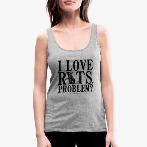 Rats Problem 7 - Naisten premium hihaton toppi