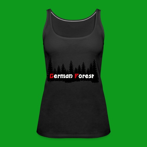 GermanForest 2 png - Frauen Premium Tank Top