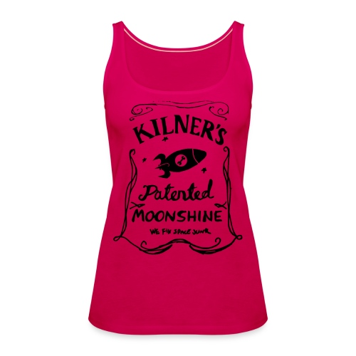 Kilner's Patented Moonshine (Black) - Women's Premium Tank Top