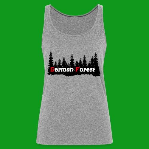 GermanForest 2 png - Frauen Premium Tank Top