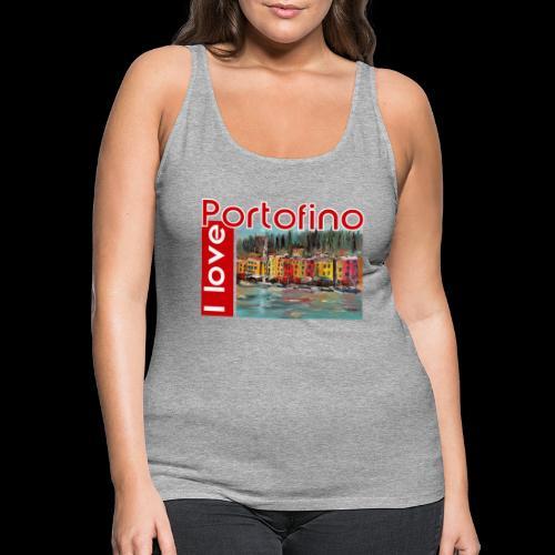 I love Portofino. Italy. - Frauen Premium Tank Top