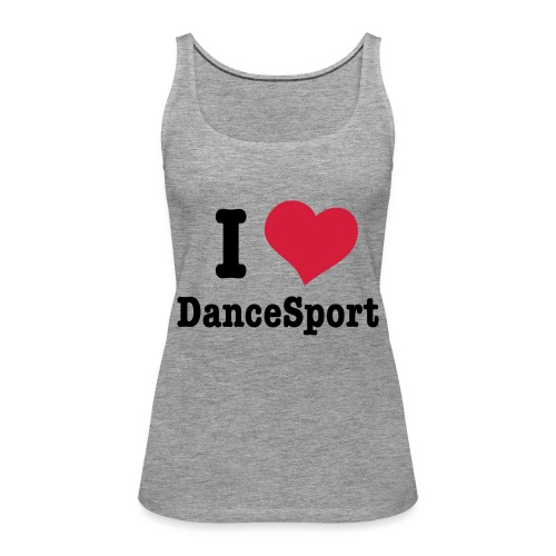 i love dancesport h vec - Débardeur Premium Femme