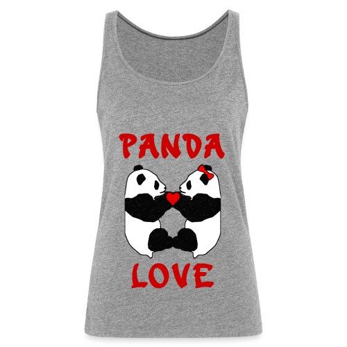 Panda Love - Women's Premium Tank Top