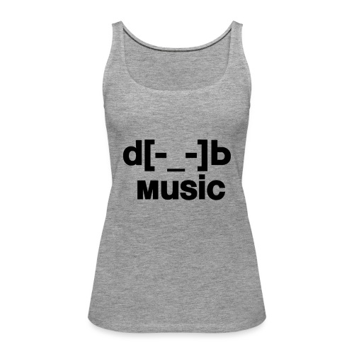 music - Débardeur Premium Femme