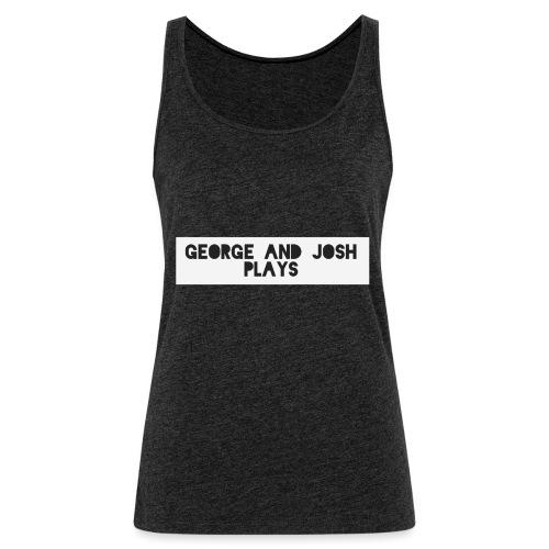 George-and-Josh-Plays-Merch - Women's Premium Tank Top