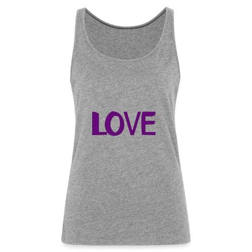 love 1 - Camiseta de tirantes premium mujer