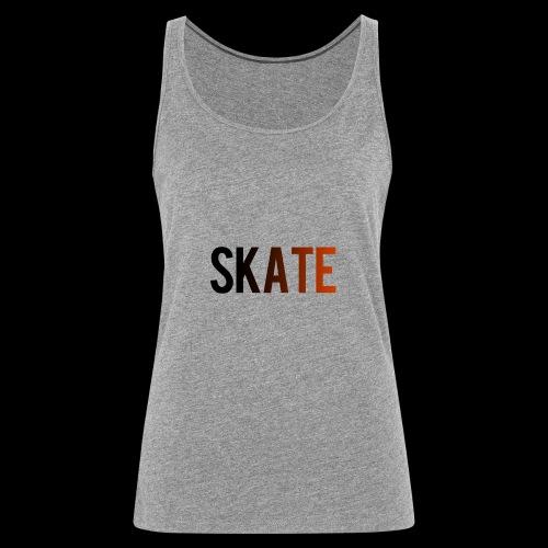 SKATE - Vrouwen Premium tank top