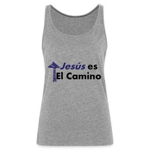 jesus el camino - Camiseta de tirantes premium mujer